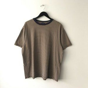 Vintage GAP Striped Retro Style Ringer Tee Shirt